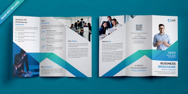 Brochure a tre ante aziendale