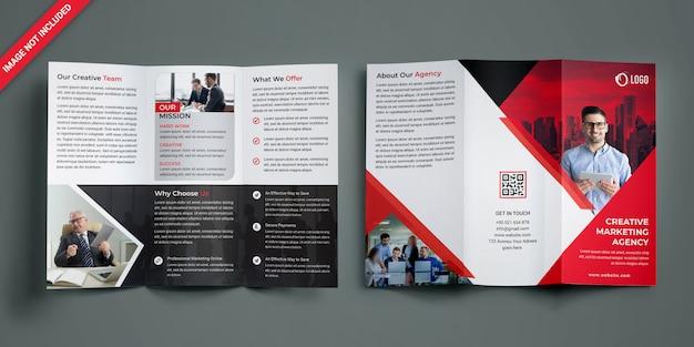 Brochure a tre ante