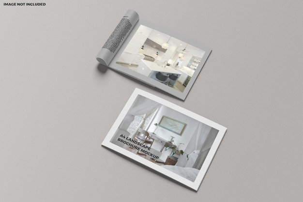 Brochure a4 liggend model