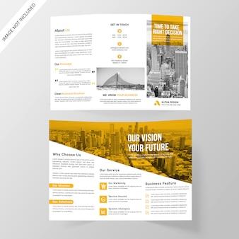 Brochure aziendale tripla