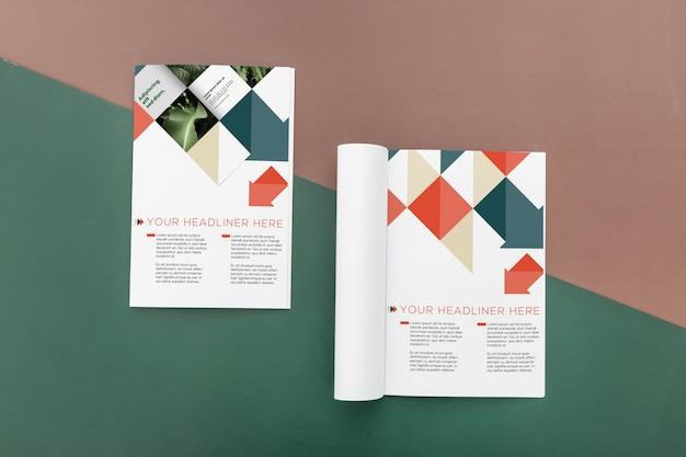 Brochure concept mock-up