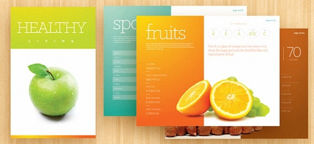 Brochure fresco template psd