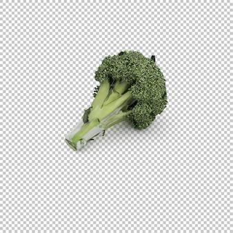 Brócoli isométrico