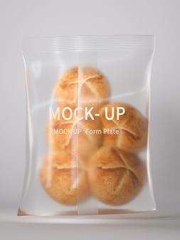Brood plastic verpakkingsmodel