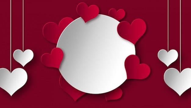Buon san valentino frame