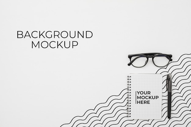 Bureau concept met mock-up
