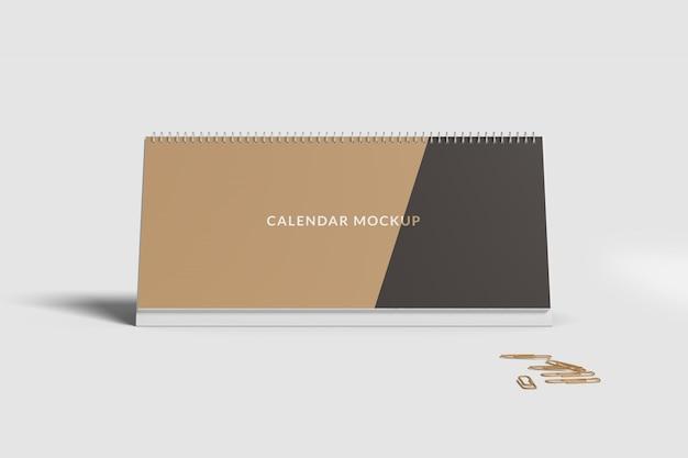 Bureaukalender mockup front