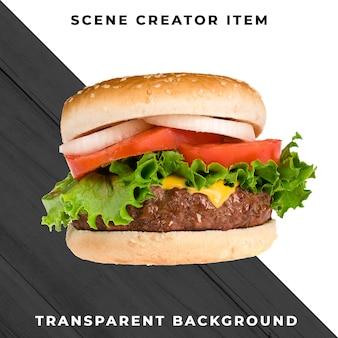 Burger ingrediënt transparant psd