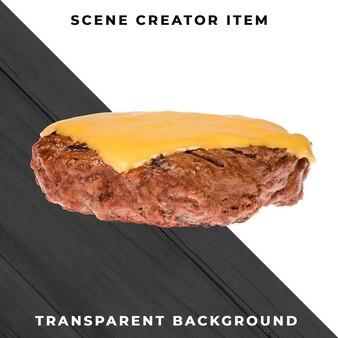 Burger ingrediente psd trasparente