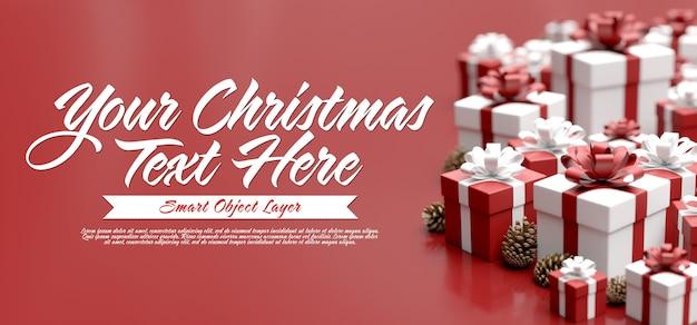 Burlarse de una escena navideña
