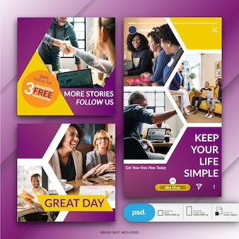 Business marketing social media bannermalplaatje