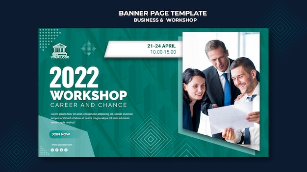 Business & workshop banner