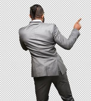Business zwarte man dansen