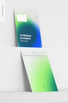 C4-venster envelop mockup