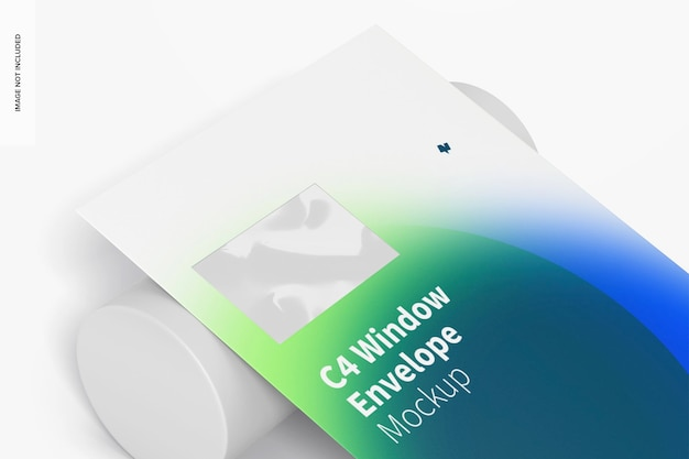 C4-venster envelopmodel, close-up