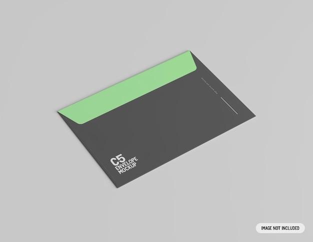 C5 envelop mockup mock