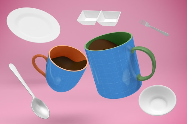 Cafe mockup