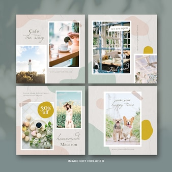 Cafe post banner collectie
