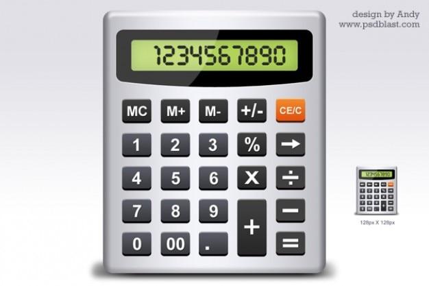 Calcolatrice icona psd