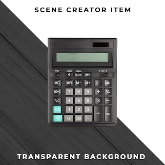 Calcolatrice psd trasparente