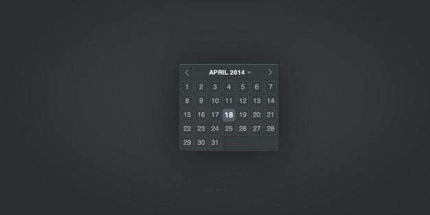 Calendario datepicker