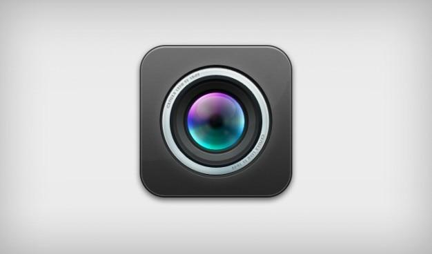 Camera-icoontje ios lens psd