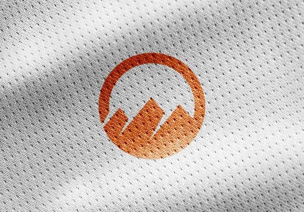 Camicia sportiva logo mockup