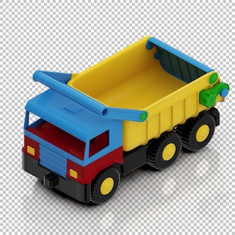 Camion bambino isometrica