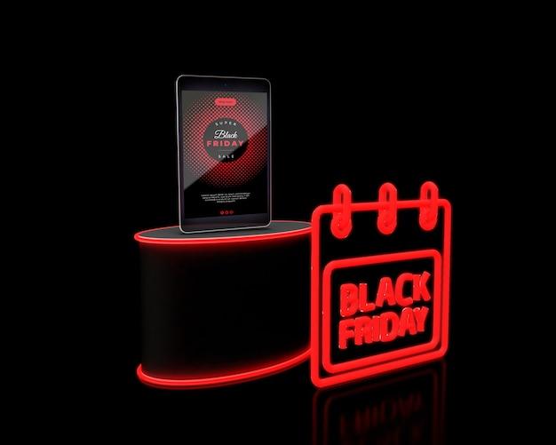 Campaña mediática del viernes negro con ventas promocionales