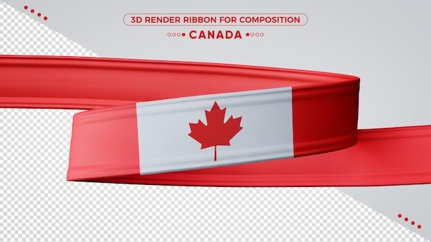 Canada 3d render lint voor samenstelling