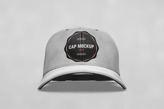 Cap mock up vista frontale
