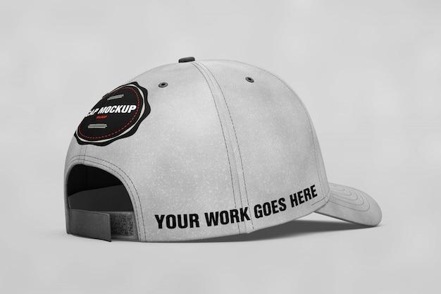 Cap mock up vista posteriore