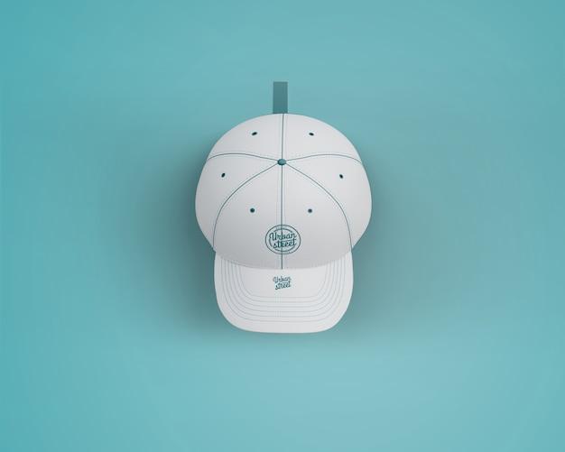 Cap-mockup voor merchandising