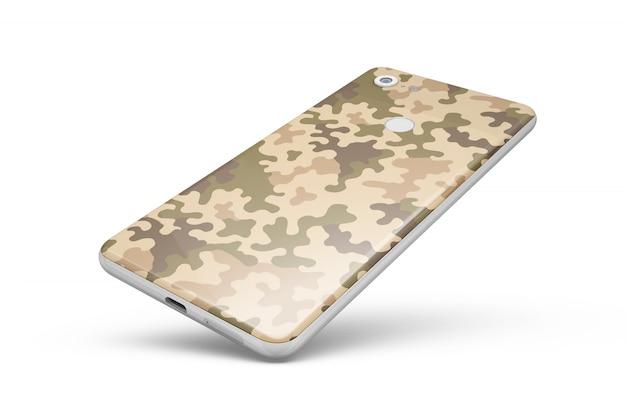 Carcasa de smartphone aislada