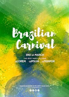 Carnavalsomslagmodel
