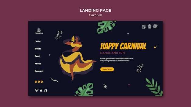 Carnival-bestemmingspagina