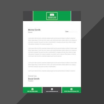 Carta intestata aziendale professionale