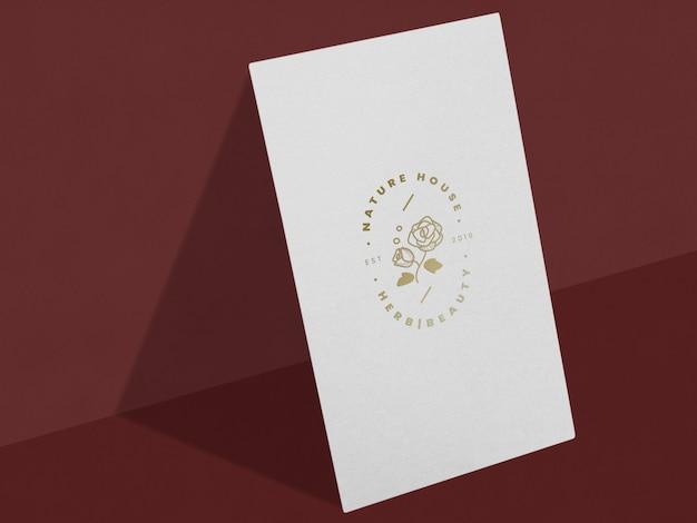 Cartel floral de negocios