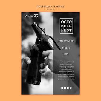 Cartel para octobeerfest