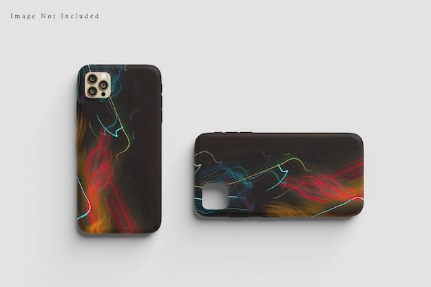 Case telefoon mockup ontwerp
