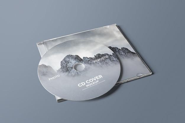 Cd / dvd cover mockup