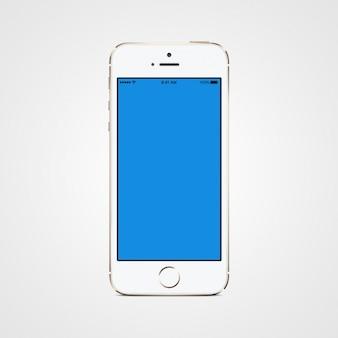 Cellulare mock up di progettazione