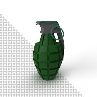 Cerca de granada aislado