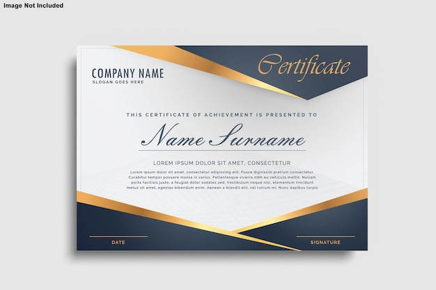 Certificaat ontwerpmodel