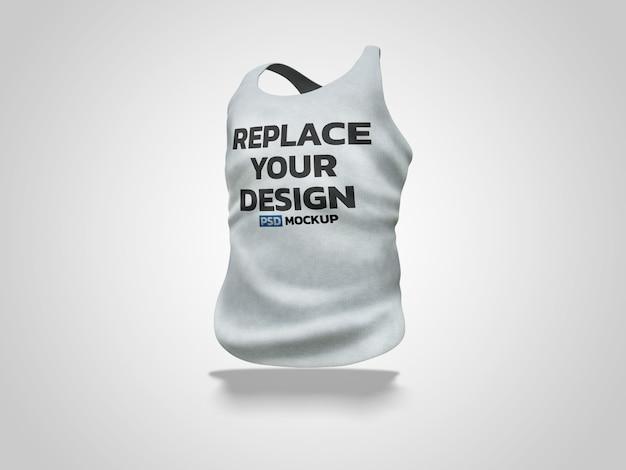Chaleco maqueta de renderizado 3d