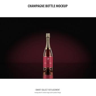Champagnefles mockup