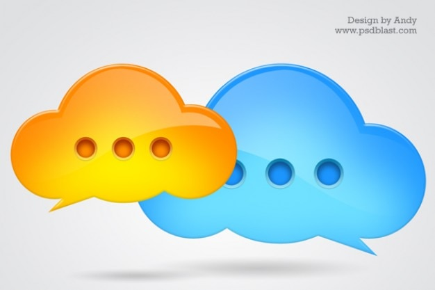 Chat icon psd