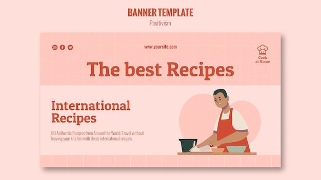 Chef a casa stile banner