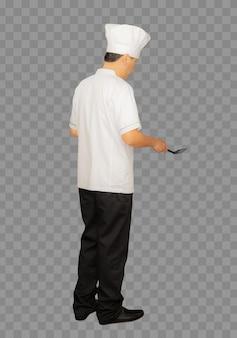 Chef-kok van het hele lichaam
