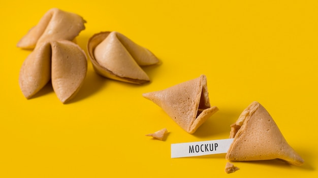 Chinees nieuwjaar concept mock-up